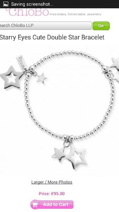 New chlobo bracelet. I need this in my life!
