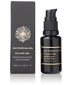 May Lindstrom Skin The Youth Dew the hydrating serum now available at Spirit Beauty Lounge along with the whole May Lindstrom collection.