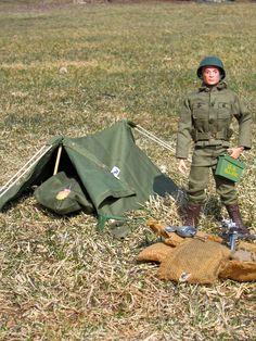 Action Soldier, Bivouac set 7513