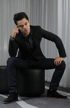 dominic cooper....i. cant. handle. him. too. perfect.