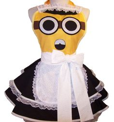 French Maid Minion Apron - how much sucking up do i have to do to get this one? you're the best teacher ever...
