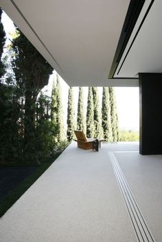 Corner, soffit, disappearing lift and slide. Beautiful use of perspective, cantilevered architecture and a blending with modernity and nature. Clean and sharp.
