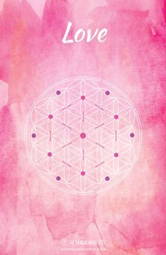 This free Printable Crystal Grid Layout for Love is a gift from The Sandalwood…
