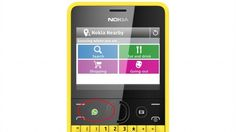 Nokia has added a WhatsApp button for instant messaging to its new Asha 210 smartphone -- the first phone to do so.