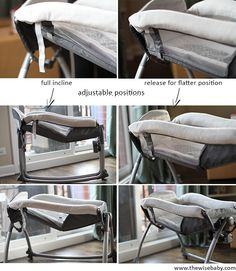 Graco Little Lounger Review - the Little Lounger can be nearly flat or at an incline to ensure comfort no matter your baby's preference!