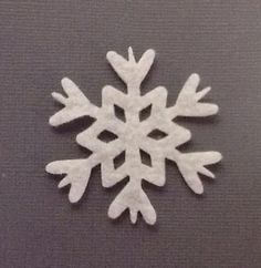 NEW!!! Star Snowflake Felt Cut Out for wax dipping or other projects by 418Dreams on Etsy. Perfect for #Scentsy samples.