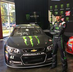 Lookin' fast, Kurt Busch! #NASCAR [Padgram @stewarthaasracing]