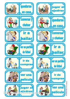 Los alumnos deben decir una frase con la expresión antes de jugar, usando adverbios o expresiones adverbiales de frecuencia (a menudo, siempre, a veces, etc.) con el presente de indicativo.