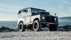 Land Rover Series 3 se ve mejor en negro mate