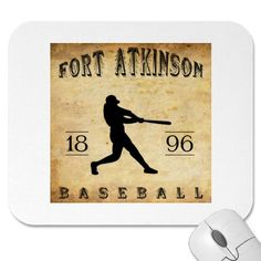 1896 Fort Atkinson Wisconsin Baseball Mouse Pads