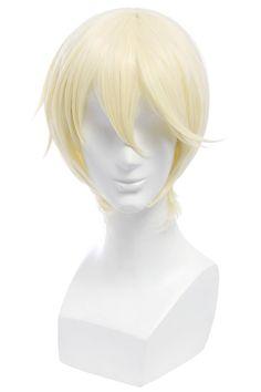 Nouqi® Touken Ranbu Anime Higekiri Hizamaru Short Cosplay Wigs * Check out the image by visiting the link.