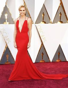 The Oscars 2016 - Red Carpet Fashion - Charlize Theron