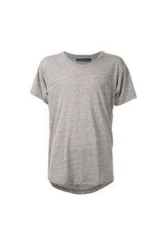 {John Elliott + Co / 01 clothing / 04 knitwear / 01 t-shirt} Curve U-Neck T-Shirt