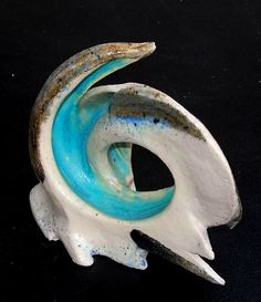 White bird sculpture.Circle bird. Bird by DeepSilence on Etsy