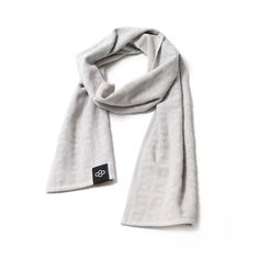 PUNCHI - Kolect Gray - #Scarf that's a towel, #Towel that's a scarf