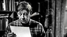 W. H. Auden. One of my favorite poets.