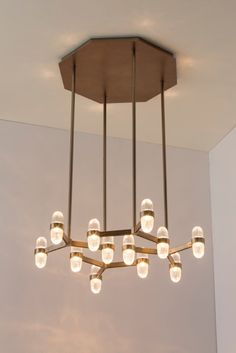 San Pietro Pendant : Dennis Miller Associates Fine Contemporary Furniture, Lighting and Carpets in NYC Mini Pendant Lights, Pendant Chandelier, Chandelier Lighting, Interior Lighting, Lighting Design, Lighting Ideas, Ceiling Lamp, Ceiling Lights, Modern Hallway