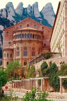 Benedictine Monastery, Monserrat, Spain