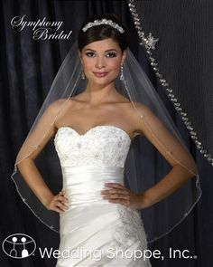 Symphony Bridal Veils 6301VL ($75.30 with discount)