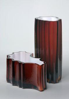 Vases by R.Burda, Stalagnit + S.