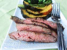 Marinated Steak recipe- Dinner #freezercooking #steak #realfood