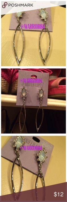 Jennifer Lopez Tear Drop Earrings NWT Jennifer Lopez Tear Drop Earrings NWT Jennifer Lopez Jewelry Earrings