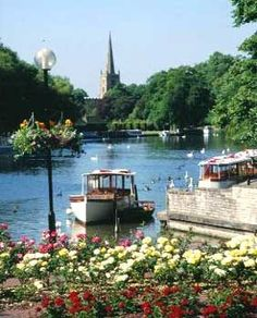 awesome pics: Stratford-upon-Avon- Shakespeare´s Hometown