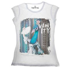 T-shirt Pavone Available on www.manymaltshirt...