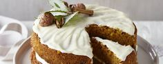 Winter garden carrot and parsnip cake