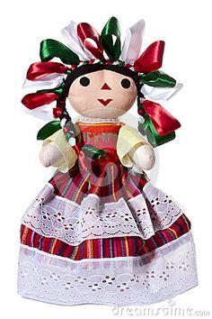 Muñeca mexicana nacional