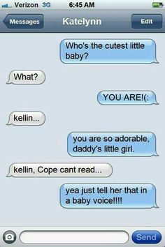 Hes too cute!>> too cute?! HES FREAKING TELLING KATELYNNE TO TELL COPEY THAT SHES ADORABLE JUST LIKE HIM AHH