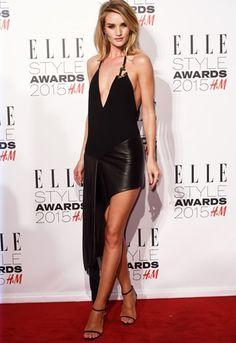 Red carpet looks from the Elle UK Style Awards 2015: Rosie Huntington Whiteley