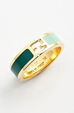 Fendi Logo Ring available at #Nordstrom LOVE