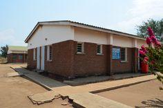 Walkways underway at Nandumbo Health Centre #Malawi #HELPchildren #HealthCentre