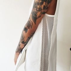 really want a floral sleeve