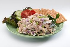 Rockin Chicken Salad - Salt-Free Recipes | Engage Organics Enjoy this quick and easy treat that will cover you for appetizers, sandwiches, salad and more! https://www.engageorganics.com/recipes/rockin-chicken-salad