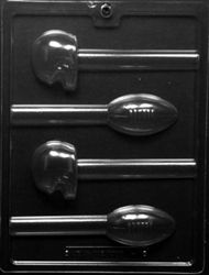 Cybrtrayd S057 Sports Chocolate Candy Mold Football