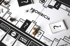 'PROHIBICJA' BOARD GAME DESIGN on Behance
