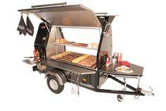 Truck Detailing, Buy Truck, Food Trailer, Cafe Design, Street Food, Bunk Beds, Baby Strollers, Bbq, Kitchen Appliances