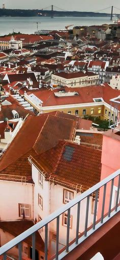 Lisbon: Hotel Solar dos Mouros - every room in this quirky hotel has a view - its penthouse terrace has the best in Lisbon (plus sunbeds and private outdoor shower).