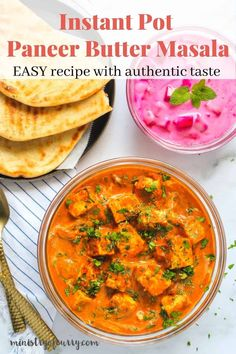 Authentic tasting restaurant style paneer butter masala is so EASY in the Instant Pot. A crowd pleaser recipe that takes only 20 mins to cook. #ministryofcurry #indianrecipe #instantpot Biryani Recipe, Masala Recipe, Healthy Indian Recipes, Ethnic Recipes, Paneer Makhani, Aloo Recipes, Pressure Cooker Recipes, Easy Chicken Recipes