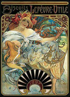 1897, Lefevre Biscuits ad.