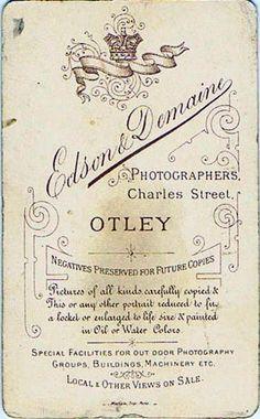 EDSON & DEMAINE - Otley (ebay.es)