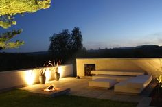 a mimimalist island Haddeland Design Outdoor Light Fixtures, Outdoor Lighting, Outdoor Decor, Minimalist Garden, Outside Living, Landscape Lighting, Landscape Architecture, Houzz, Ibiza