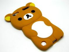 Apple iPod Touch 5 5th 5g Generation Rubber Skin Silicone Cover Case Brown Bear   eBay
