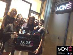 Grazie Grazie Grazie Grazie Grazie! Mon'è Opening Party #SelfieMonè #MonèBou #Monè ---> https://m.facebook.com/475297775944607/albums/492217657585952