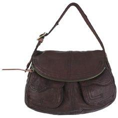 Lucky Brand Leather Stash Bag $119.99