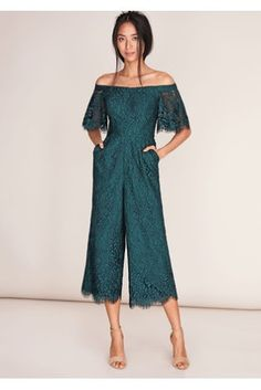 128d6eca0365 Image result for coast green lace jumpsuit