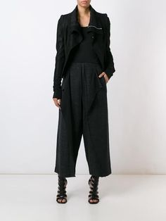 Lost & Found Rooms 'Melange Soft Crop' trousers