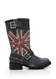 Penny Sue British Freedom Boots